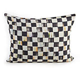 Courtly Check Boudoir Pillow