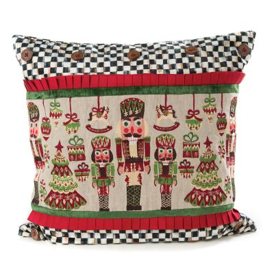 Santa's Workshop Pillow