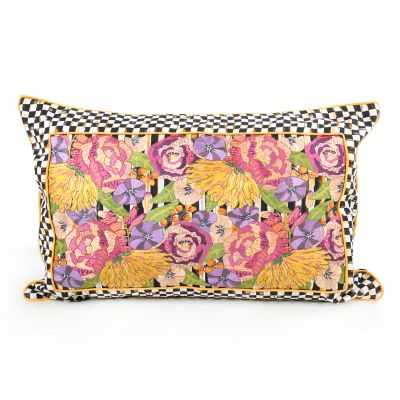 Shakespeare's Garden Lumbar Pillow - Medium