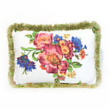 Flower Market Outdoor Lumbar Pillow