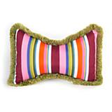 Flower Market Outdoor Butterfly Accent Pillow