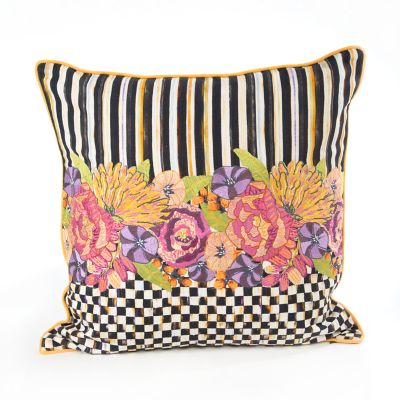 Shakespeare's Garden Square Pillow
