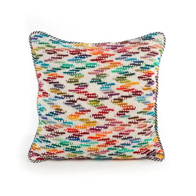Zig Zag Pillow - Square