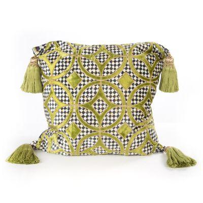 Florentine Pillow - Chartreuse