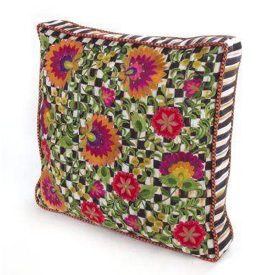 Dahlia Square Pillow