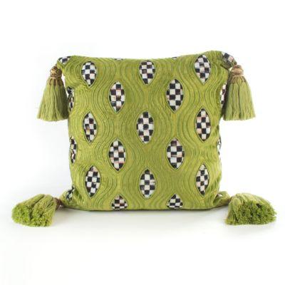 Cutaway Pillow - Chartreuse