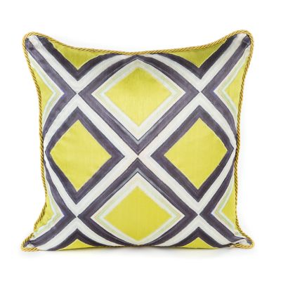 Mosaic Pillow - Chartreuse