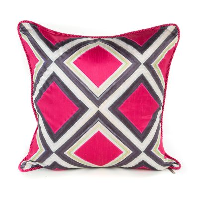 Mosaic Pillow - Fuchsia
