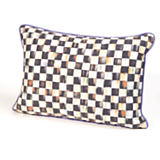 Courtly Check Lumbar Pillow