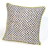Courtly Check Square Pillow