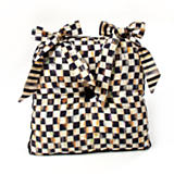 Courtly Check Button Tuft Chair Cushion