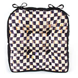 Courtly Check Outdoor Chair Cushion