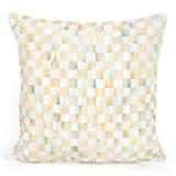Parchment Check Outdoor Pillow - 18