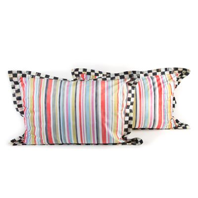 Chelsea Stripe King Shams - Set of 2