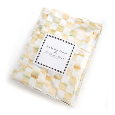 Parchment Check Duvet Cover - Twin