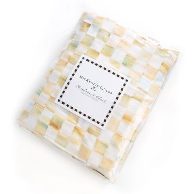 Parchment Check Duvet Cover - Queen