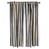 Courtly Stripe Velvet Curtain Panel
