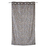 Courtly Check Grommet Curtain Panel