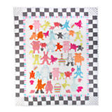 Animal Parade Baby Quilt