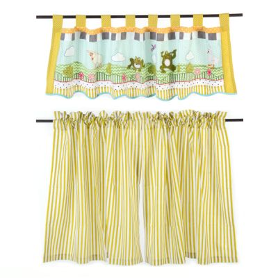 Frog Pond Valance & Curtain Set