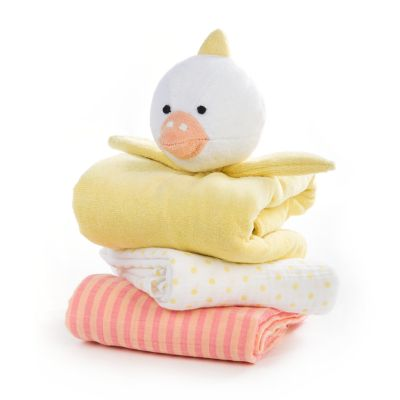 Duckling Blanket Set