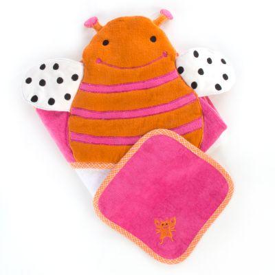 Hooded Towel Set - Bee