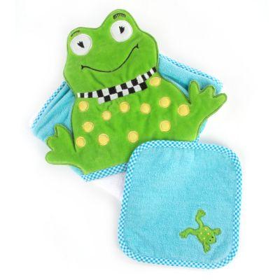 Hooded Towel Set - Frog