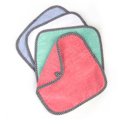Baby Washcloths - Spring - Set of 4