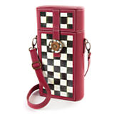 Courtly Check Enamel Wine Caddy