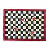 Courtly Check Enamel Message Board