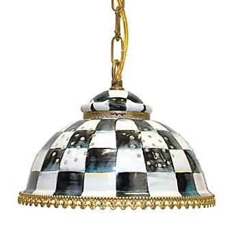 Courtly Check Pendant Lamp - Large