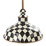 Courtly Check Barn Pendant Lamp - 12