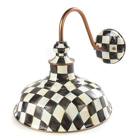 Courtly Check Barn Sconce - 12""
