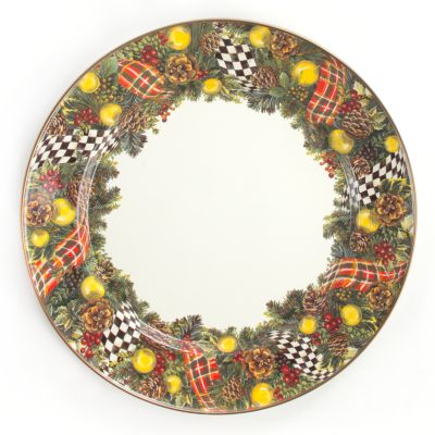 Evergreen Enamel Charger/Plate
