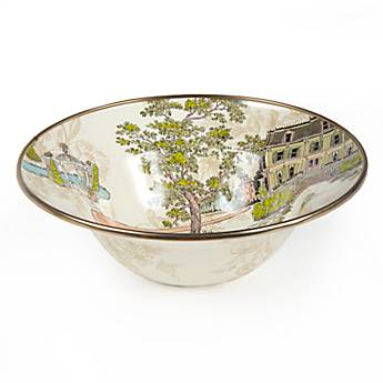 Aurora Enamel Breakfast Bowl