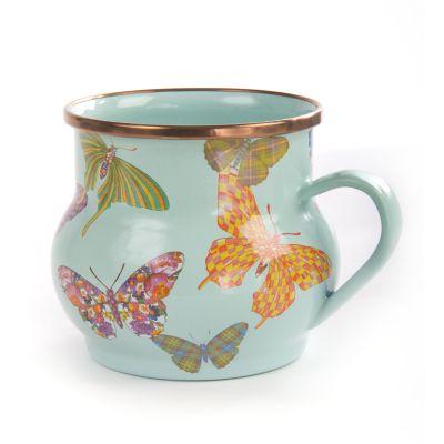 Butterfly Garden Mug - Sky