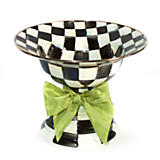 Courtly Check Enamel Compote - Large
