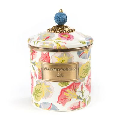 Morning Glory Canister - Small