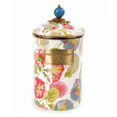 Morning Glory Canister - Large