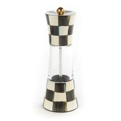 Courtly Check Enamel Grinder