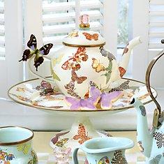 Butterfly Garden: White