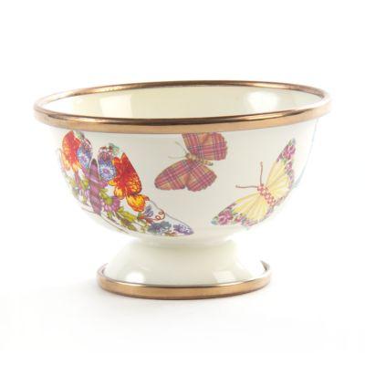 Butterfly Garden Little Sugar Bowl - White