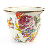 Flower Market Enamel Flower Pot - Large