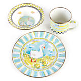 Enamel Child's Dinner Set - Simon