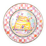 Enamel Child's Plate - Bee