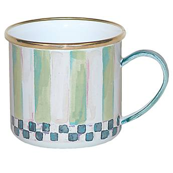 Enamel Child's Mug - Frog