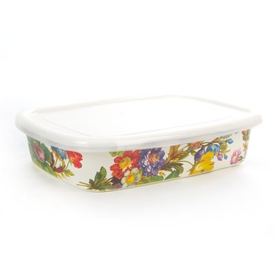 Flower Market Small Storage - White