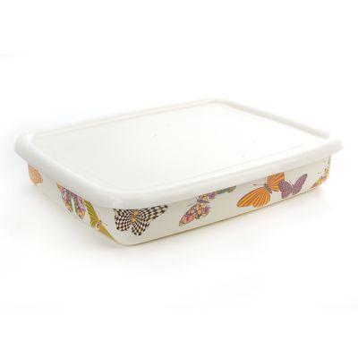 Butterfly Garden Large Storage - White