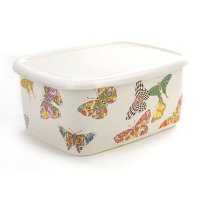 Butterfly Garden Deep Storage - White