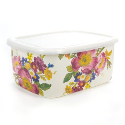 Flower Market Deep Storage - White